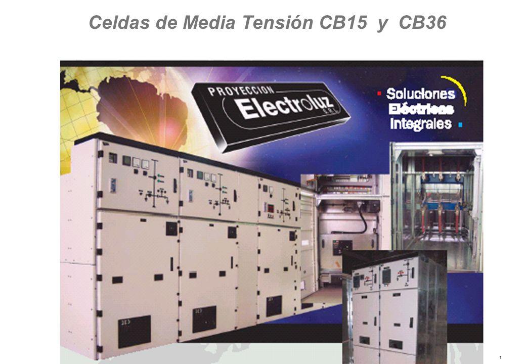 1 Celdas de Media Tensión CB15 y CB36