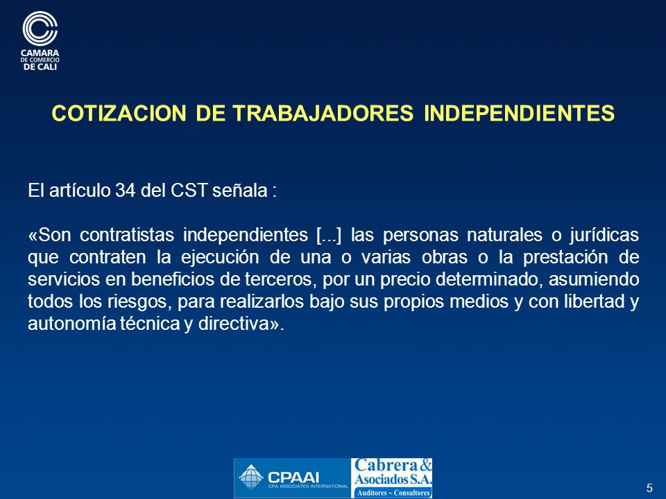 196 INFORMACION PARA EL INCO (Instituto Nacional de Concesiones) Artículo 25 Ley 1430 de 2010, adiciona el artículo 587-1 E.T OBJETIVO.