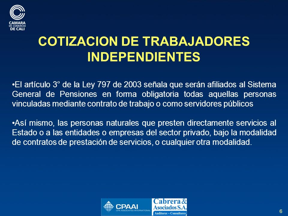 17 REFORMA AL SISTEMA DE SEGURIDAD SOCIAL EN SALUD Ley 1438 de 2.011, artículo 51 ARTÍCULO 51°.