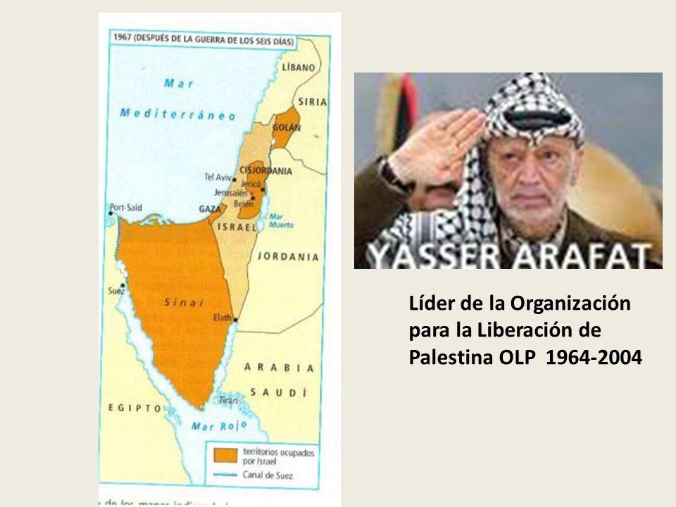 Líder de la Organización para la Liberación de Palestina OLP 1964-2004