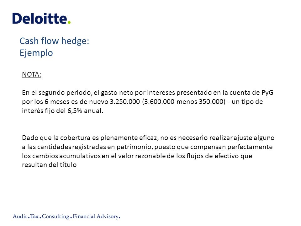 NOTA: En el segundo periodo, el gasto neto por intereses presentado en la cuenta de PyG por los 6 meses es de nuevo 3.250.000 (3.600.000 menos 350.000