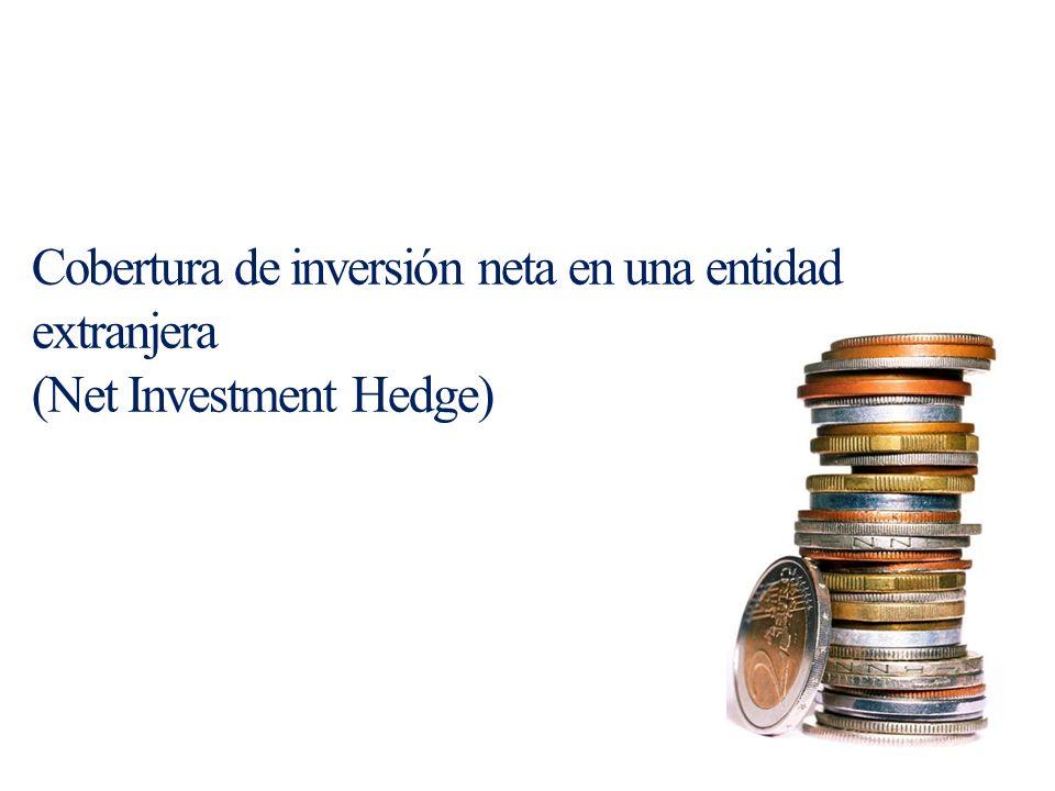 Cobertura de inversión neta en una entidad extranjera (Net Investment Hedge)