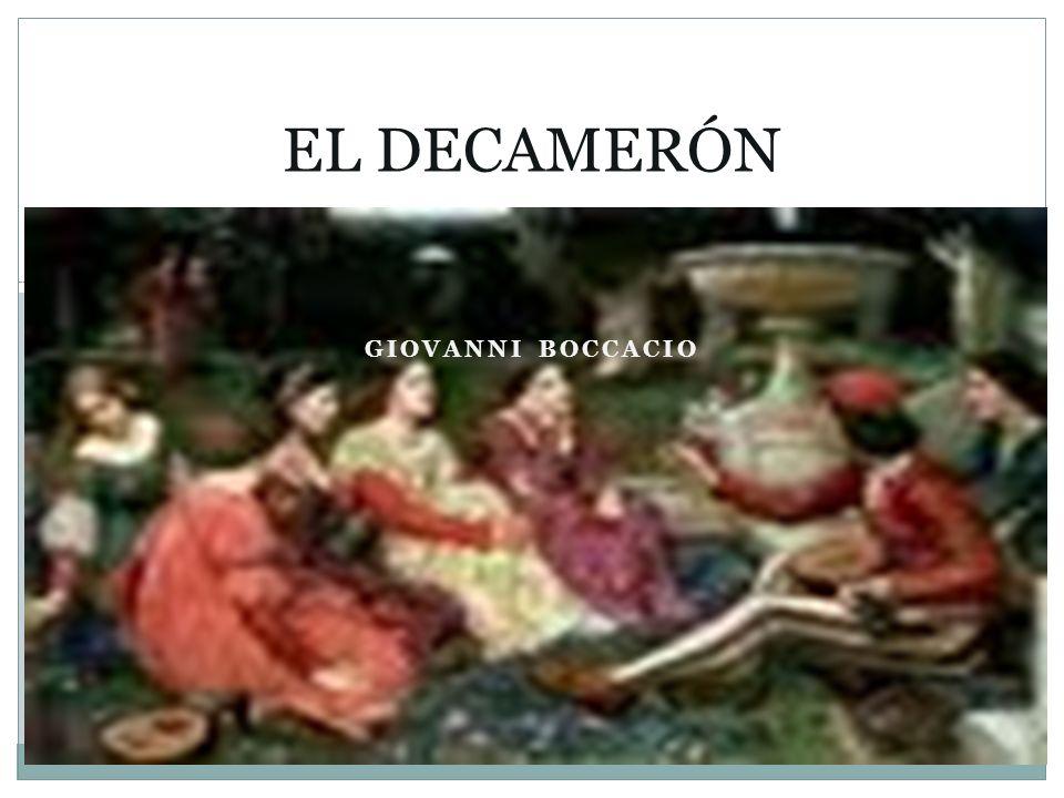 GIOVANNI BOCCACIO EL DECAMERÓN