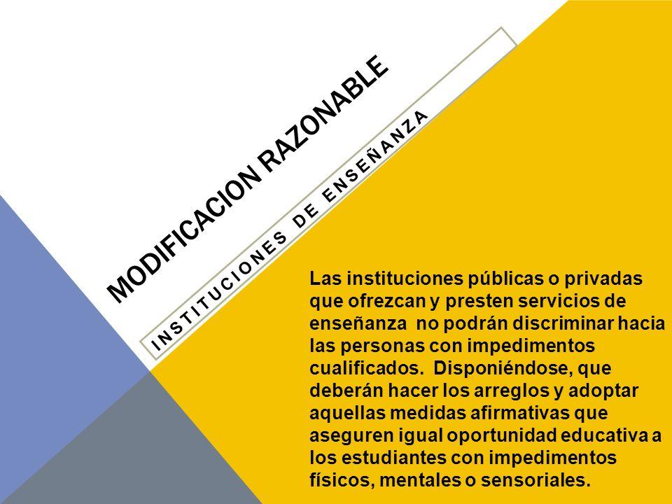 MODIFICACION RAZONABLE PLANEAMIENTO DE PROGRAMAS 2.