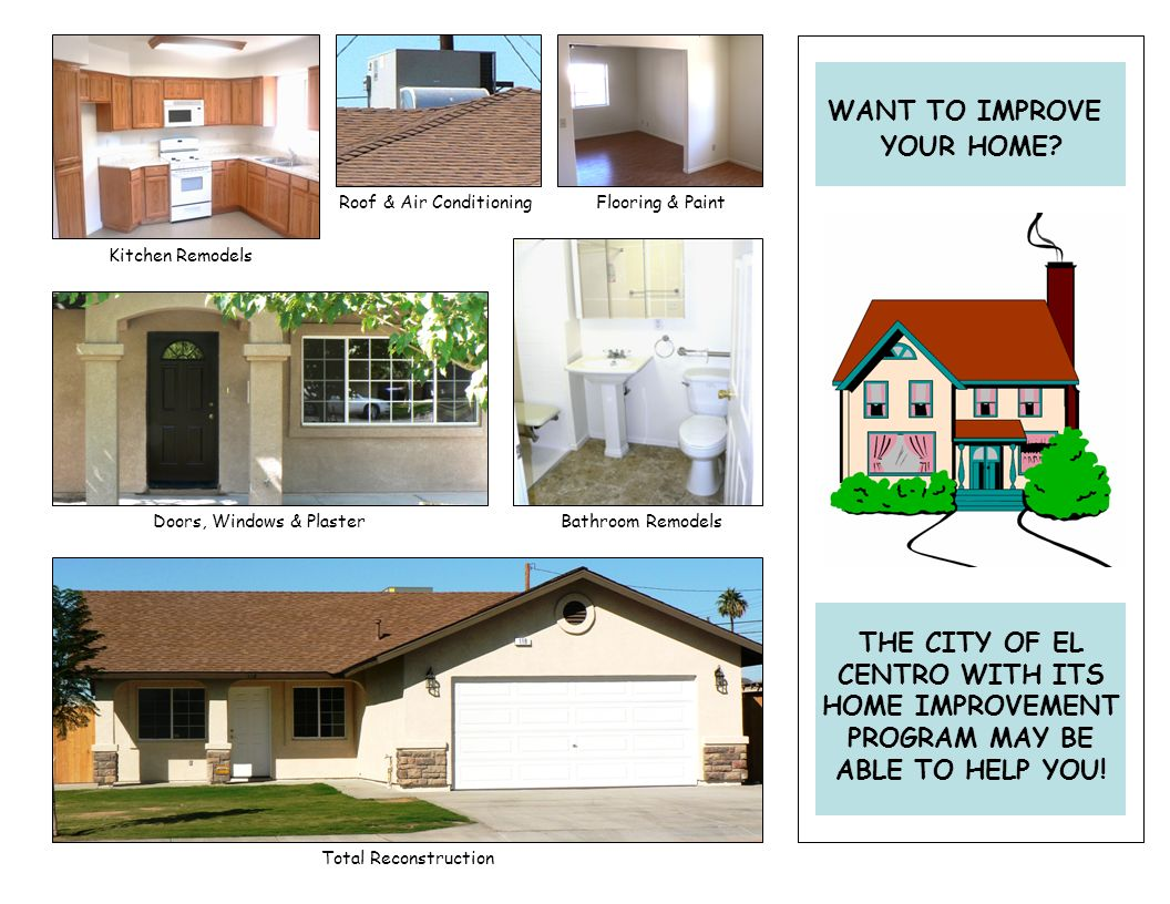 This program is being offered through the Citys Home Improvement Program and is subject to funding availability.