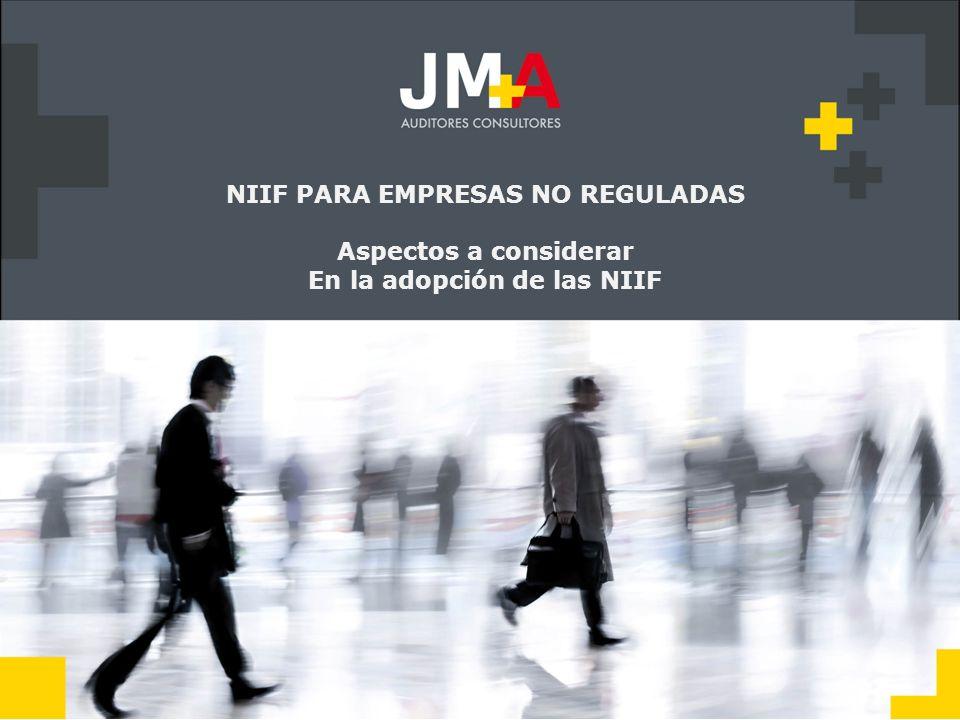 Se debe indicar que se utilizó NIIF para PYMES en la confección de EEFF.