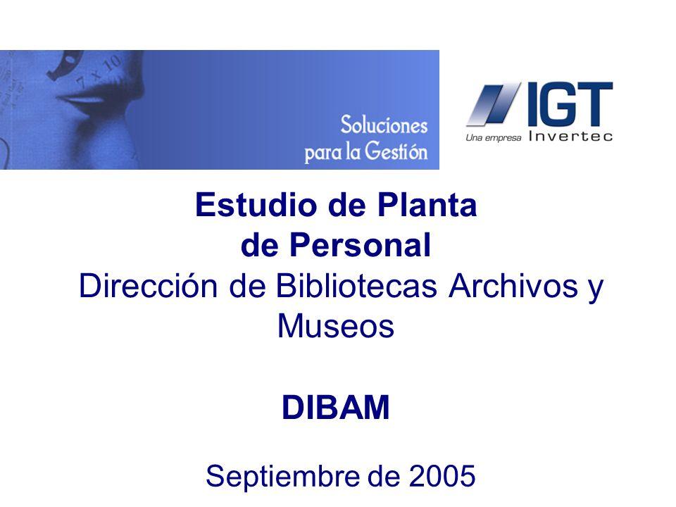 www.igt.cl La DIBAM tiene como desafío un proceso de transformación que le permita acompañar los cambios y el desarrollo de la cultura y patrimonio del país.