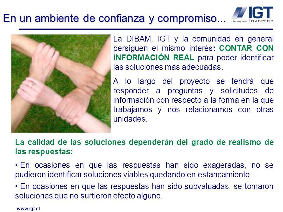 www.igt.cl El estudio que se realizará es de alcance nacional.