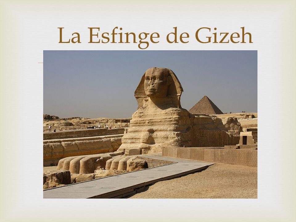 La Esfinge de Gizeh
