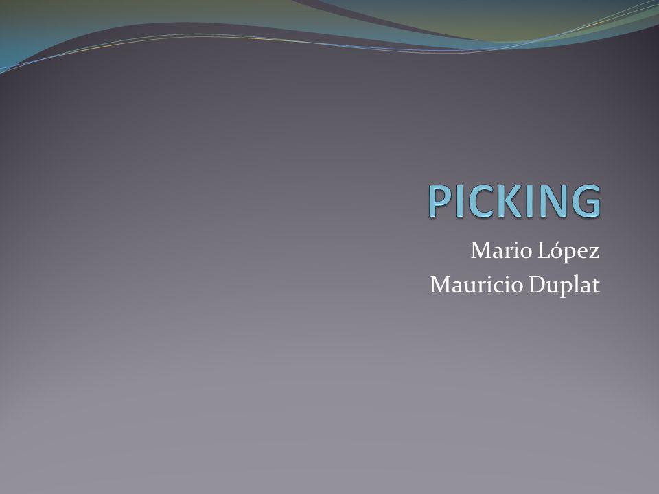 Mario López Mauricio Duplat