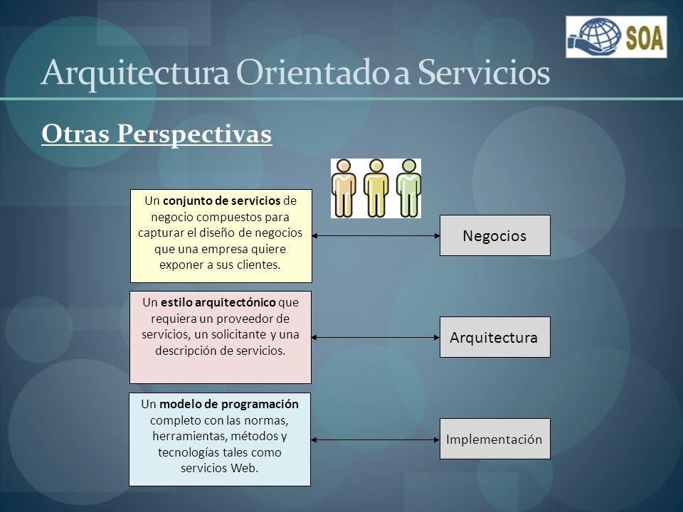 Tendencias de SOA Mejorar la satisfacción del cliente.