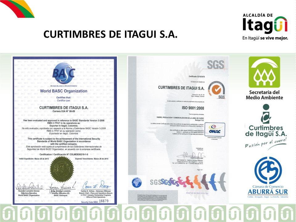 EMPRESA CURTIMBRES DE ITAGUI S.A.