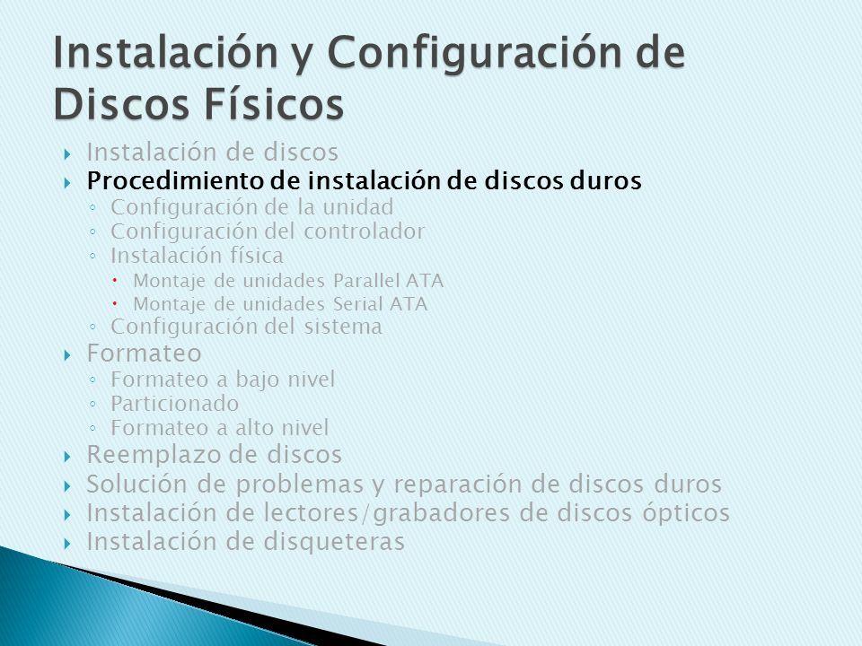 Solución de problemas y reparación de discos duros ¿Problemas mecánicos.