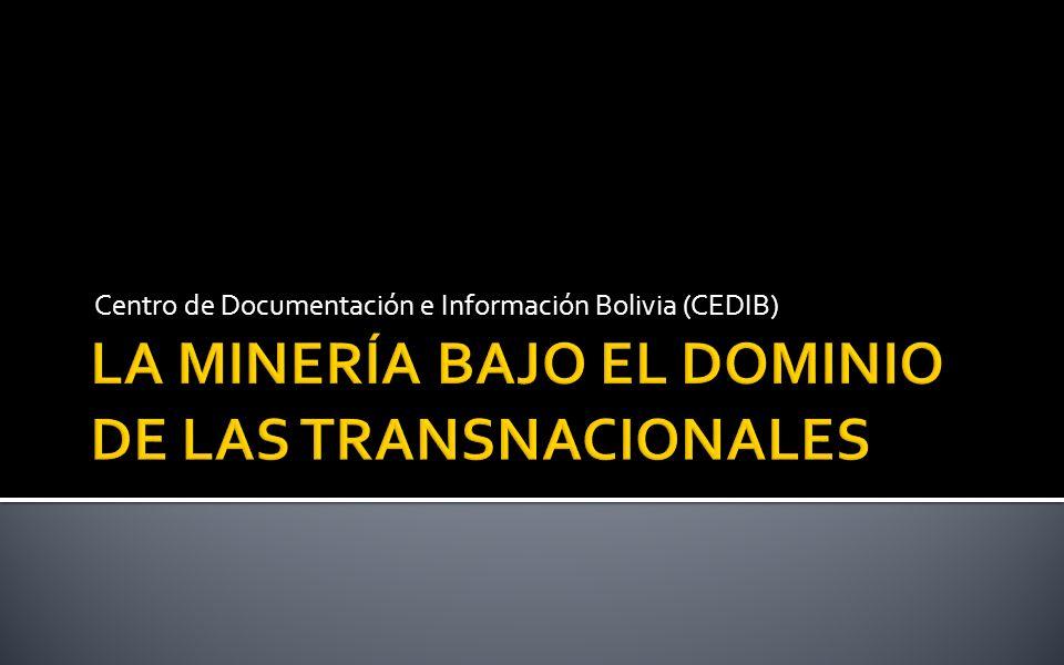 Larga historia de las minas bolivianas