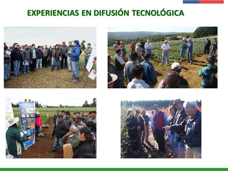 Presentación Institucional Instituto de Investigaciones Agropecuarias - INIA EXPERIENCIAS EN DIFUSIÓN TECNOLÓGICA