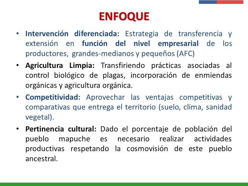 Presentación Institucional Instituto de Investigaciones Agropecuarias - INIA ENFOQUE Intervención diferenciada: Estrategia de transferencia y extensió