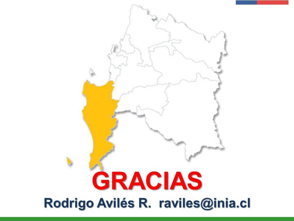 Presentación Institucional Instituto de Investigaciones Agropecuarias - INIA GRACIAS Rodrigo Avilés R. raviles@inia.cl