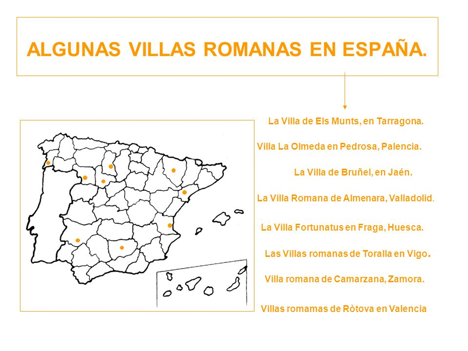 ALGUNAS VILLAS ROMANAS EN ESPAÑA.Villa La Olmeda en Pedrosa, Palencia.
