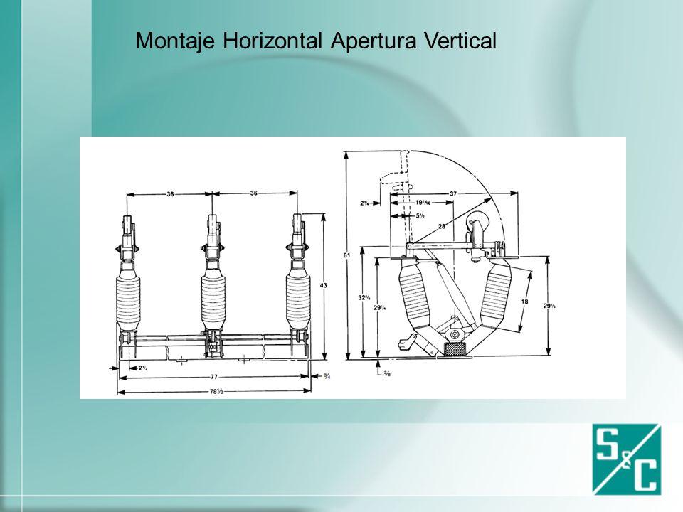 Montaje Vertical Simple Apertura Lateral