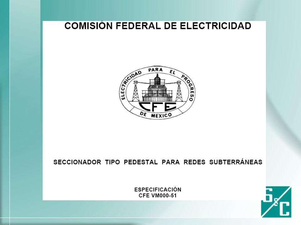 Edición 2005 CFE Normas de Distribución- Construcción Líneas Subterráneas