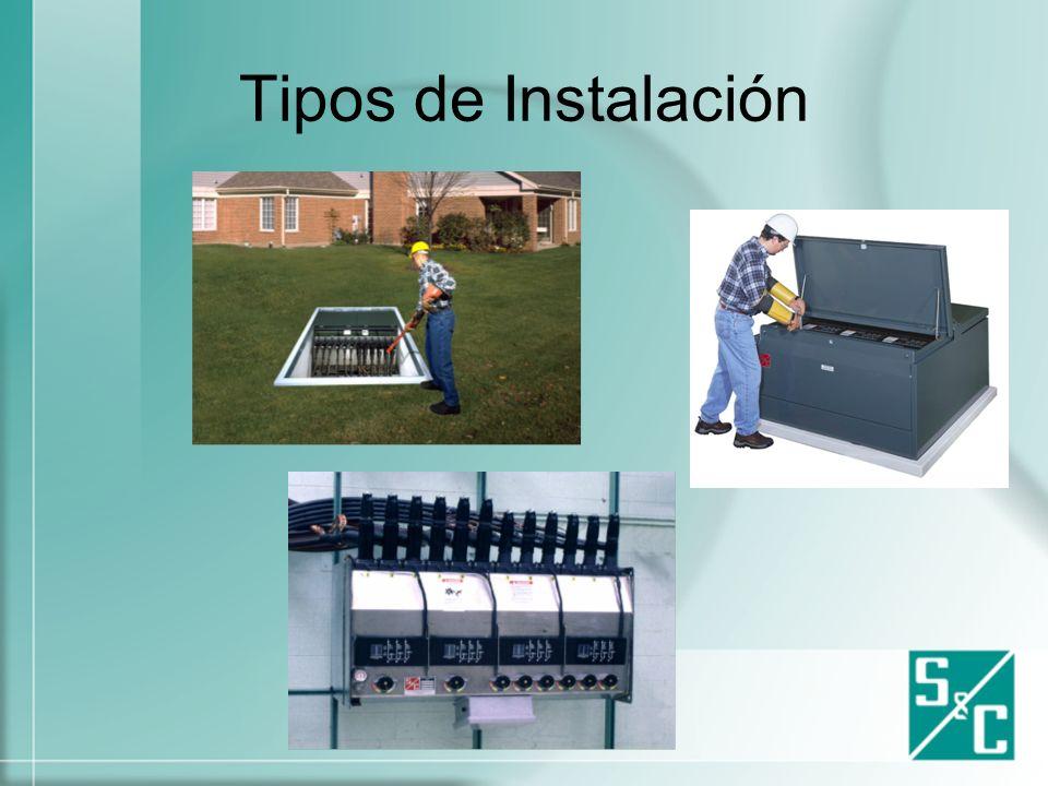 Carácterísticas Generales Mejora la instalación.Reduce el espacio necesario.