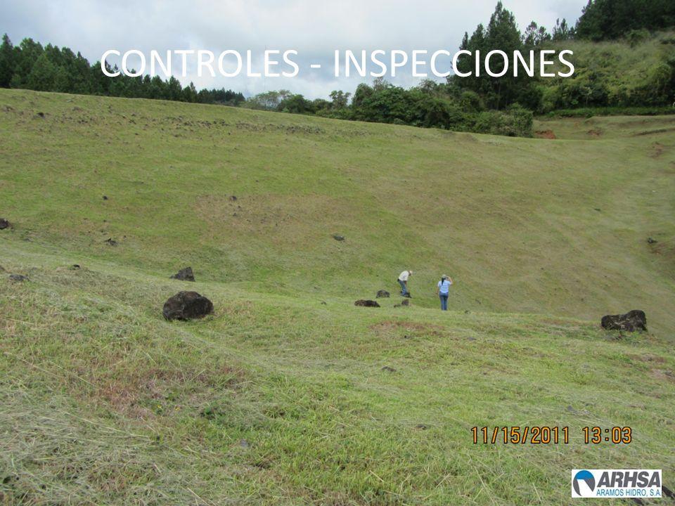 CONTROLES - INSPECCIONES