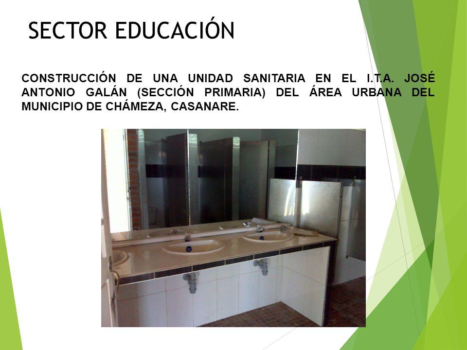 SECTOR EDUCACIÓN REALIZAR ENCERRAMIENTO Y MANTENIMIENTO DE LA CANCHA DEPORTIVA DE LA ESCUELA SAN RAFAEL DEL MUNICIPIO DE CHÁMEZA, DEPARTAMENTO DE CASA