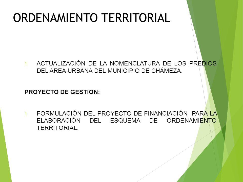 SERVICIOS PÚBLICOS ENERGÍA ELÉCTRICA PROYECTOS EN GESTIÓN: 1. CONSTRUCCIÓN DE LA INFRAESTRUCTURA PARA EL SUMINISTRO DE LA ENERGÍA ELÉCTRICA ESTABLE Y
