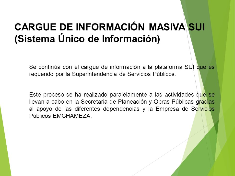 INFORME MATRIZ LÍNEA BASE SICEP 2013 Se recopiló la información correspondiente a la ejecución del Plan de Desarrollo UNIDOS GANAMOS TODOS 2012-2015 y