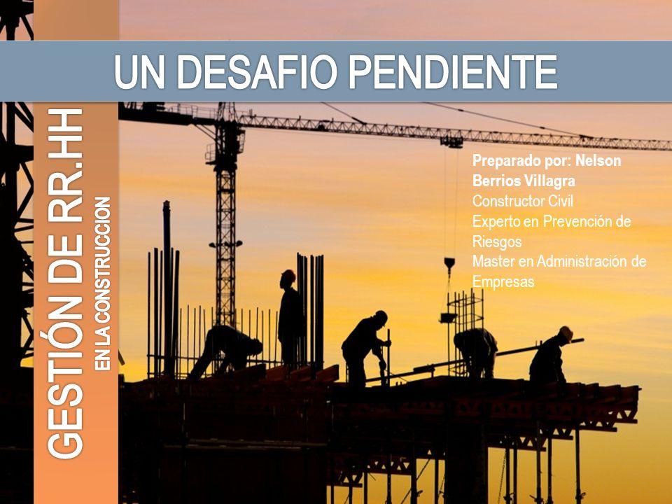 La contratación de esta mano de obra, en su gran mayoría, se realiza basándose en la experiencia que los trabajadores hayan adquirido en obras anteriores, con las correspondientes dificultades que esto tiene para el proyecto.