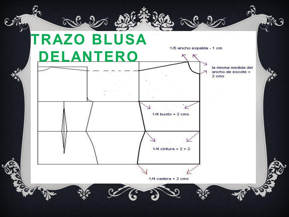 TRAZO BLUSA DELANTERO