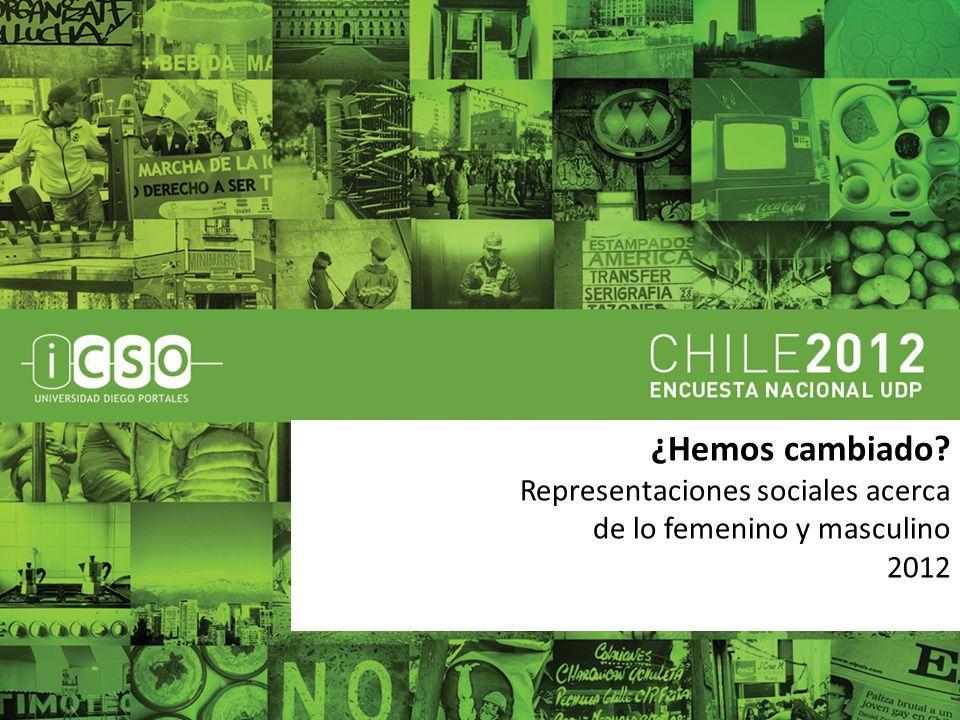¿Hemos cambiado Representaciones sociales acerca de lo femenino y masculino 2012