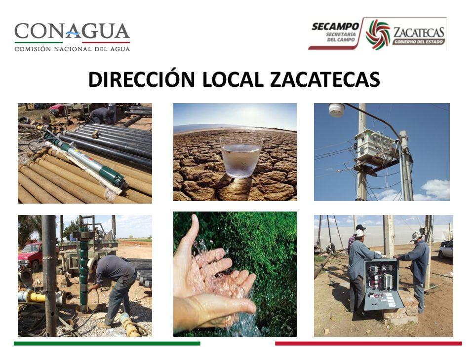 DIRECCIÓN LOCAL ZACATECAS