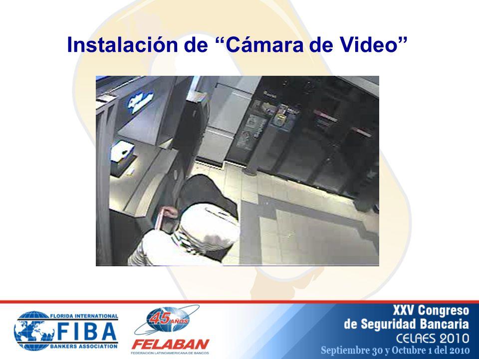 Instalación de Cámara de Video