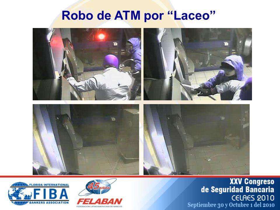 Robo de ATM por Laceo