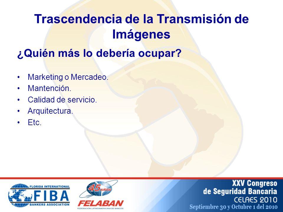 Trascendencia de la Transmisión de Imágenes Marketing o Mercadeo.