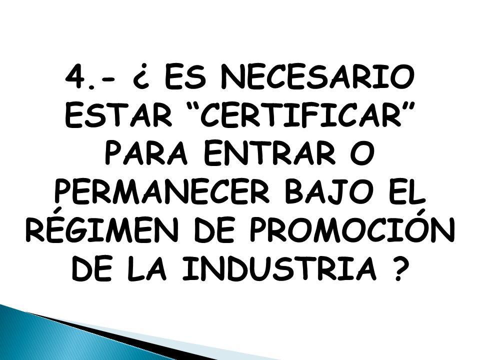 2.- En un mundo cada vez más globalizado y con fuerte integración la certificación ayuda a que las empresas puedan contar con una evaluación objetiva de sus proveedores y asociados.