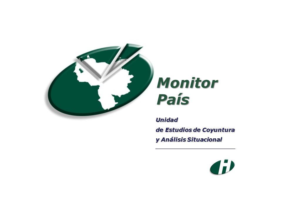 MonitorPaís Unidad de Estudios de Coyuntura y Análisis Situacional ___________________________________
