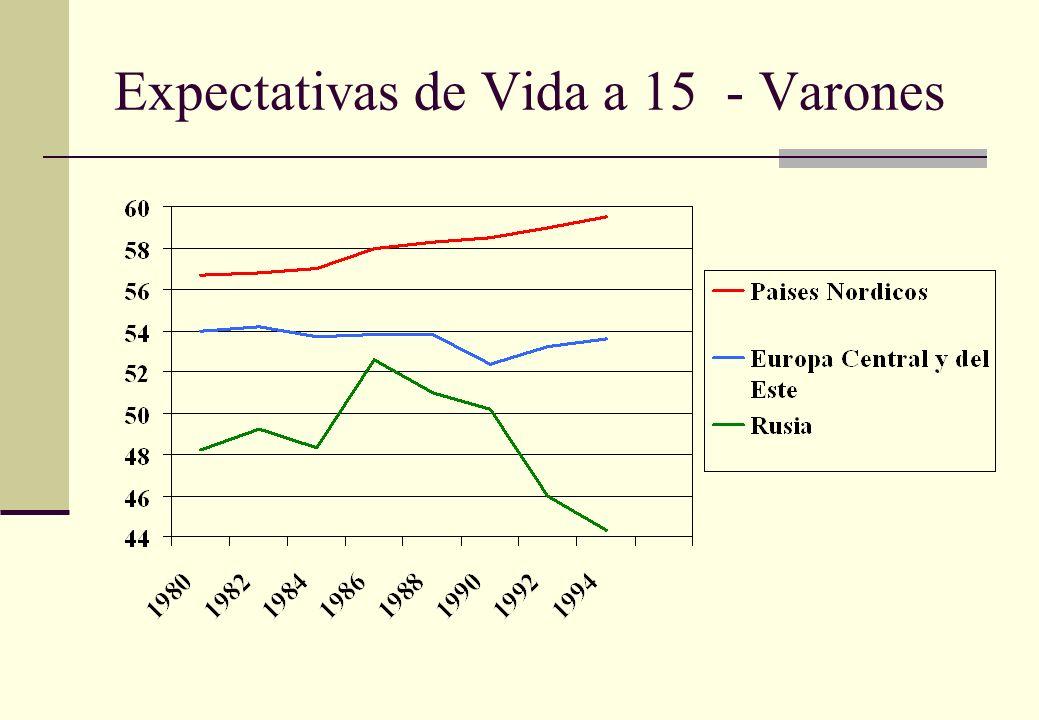 Nivel de Mortalidad en Argentina A pesar que el nivel de mortalidad bajo de 8.2 por 1,000 entre 1986-1988 a 7.8 por 1,000 en 1995, se encontraron diferencias significativas entre distintas regiones, con mas alto nivel de mortalidad en el norte.