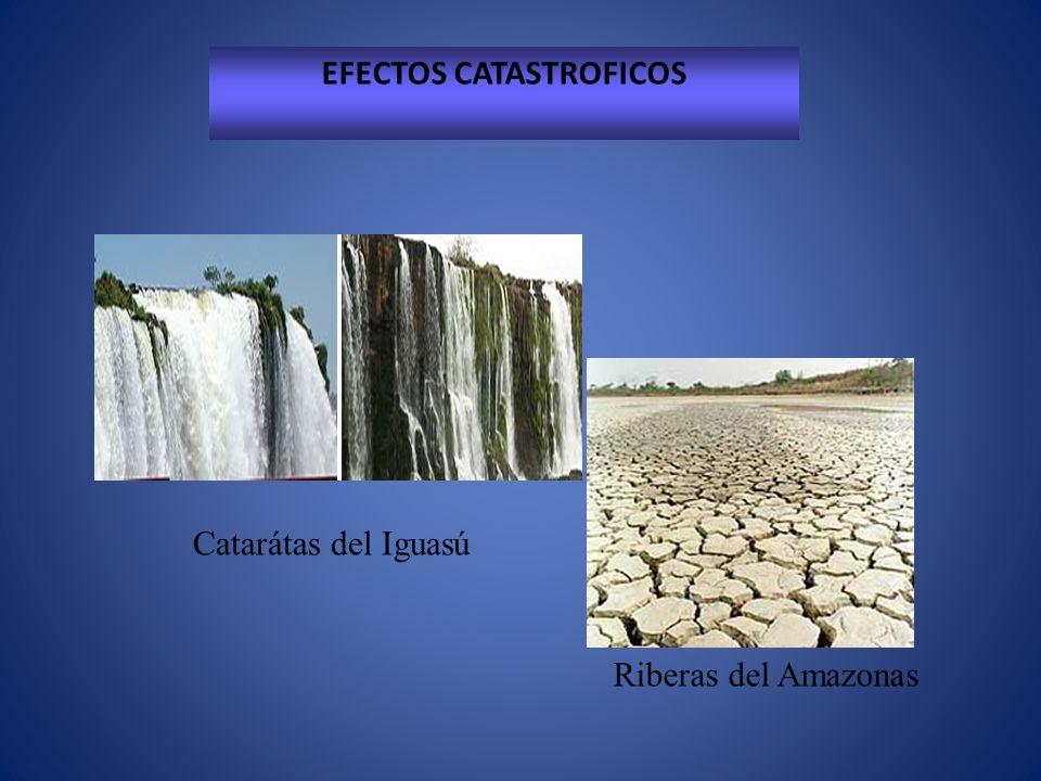 Catarátas del Iguasú Riberas del Amazonas