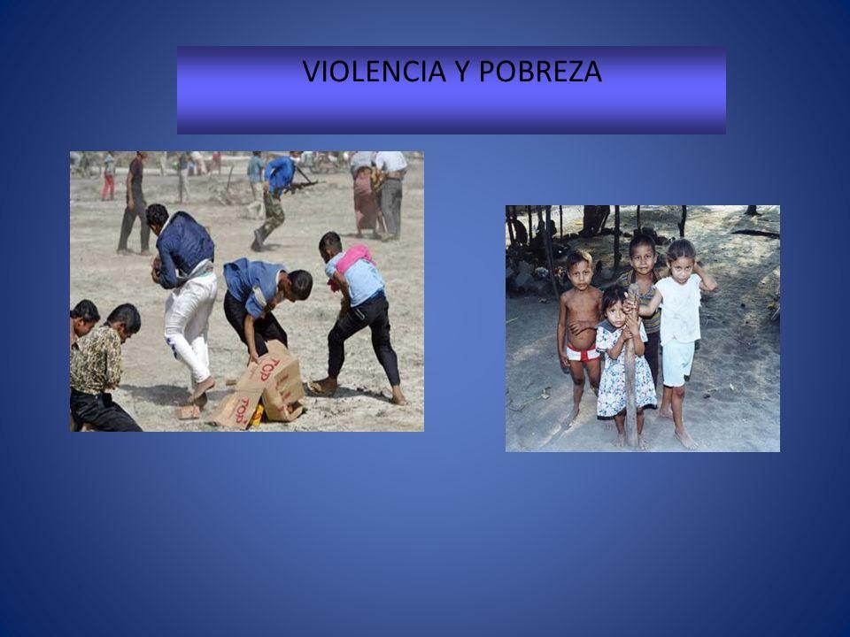 VIOLENCIA Y POBREZA