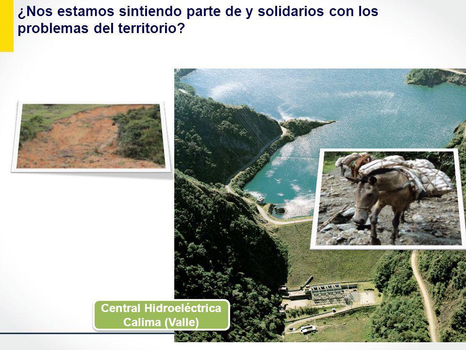 Central Hidroeléctrica Calima (Valle) ¿Nos estamos sintiendo parte de y solidarios con los problemas del territorio?