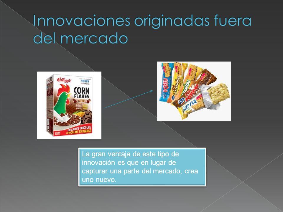 La gran ventaja de este tipo de innovación es que en lugar de capturar una parte del mercado, crea uno nuevo.
