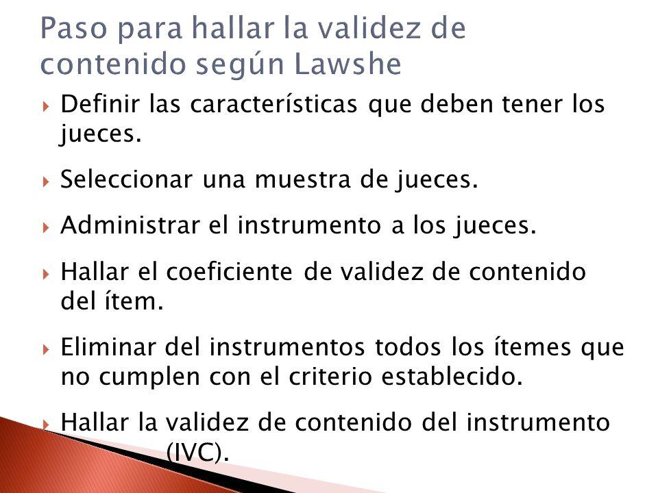 La improvisación Para construir un instrumento se requiere conocer muy bien la variable que se pretende medir, así como la teoría que la sustenta.