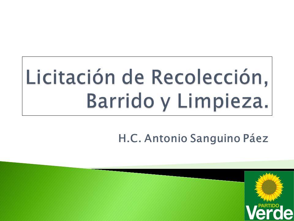 En octubre de 2002 la UAESP dio inicio a la Licitación Pública 001 de 2002 cuyo objeto fue contratar la Concesión para la Recolección, Barrido y Limpieza de vías y áreas públicas y corte de césped y transporte de los residuos al sitio de disposición en el Distrito Capital de Bogotá.