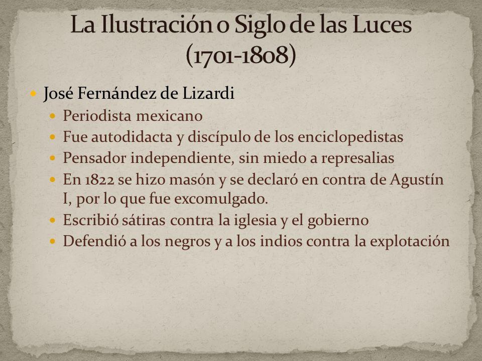 José Fernández de Lizardi