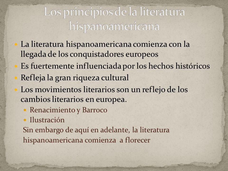 El Periquillo Sarniento (1816) Novela picaresca que se publicó a capítulos en un periódico Primera novela hispanoamericana Fue prohibida por la censura por atacar la esclavitud de los negros.