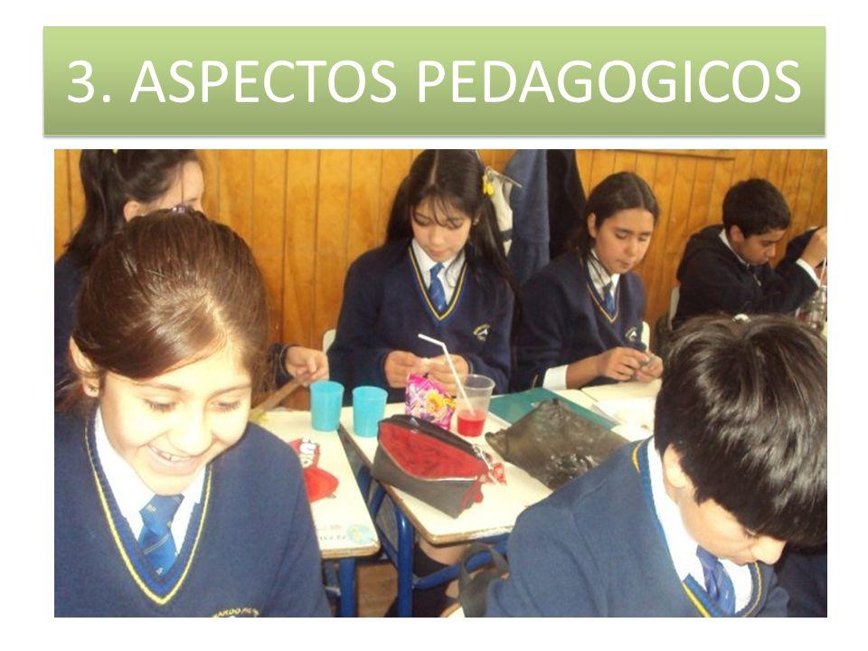 3. ASPECTOS PEDAGOGICOS