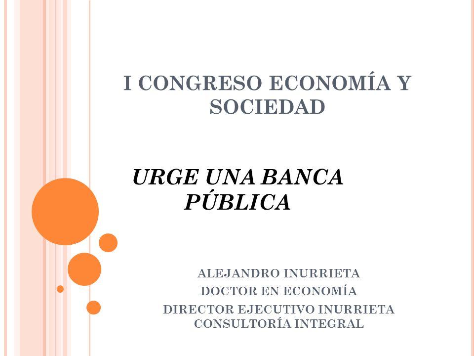 I CONGRESO ECONOMÍA Y SOCIEDAD Efecto contracíclico Monthly real growth in bank credit and Basel Index