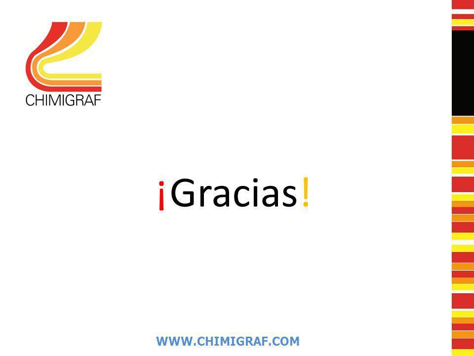 WWW.CHIMIGRAF.COM ¡Gracias!